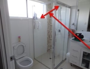 Impractical house design faults to bathroom