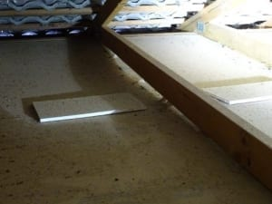 Ceiling sheets sagging