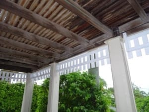 Verandah and deck problems