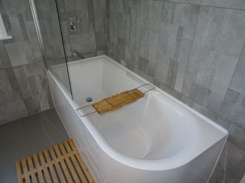 Incorrect installation of bath-shower