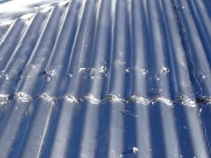 Covered-up roof defects