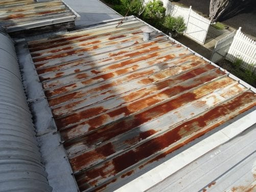 Rusted Roof Building Inspections Brisbane Qbis