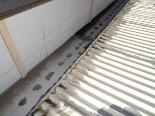 Undersized box gutters
