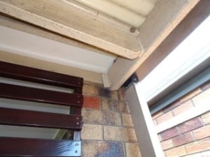 Inadequate roof structure securing