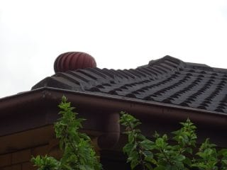 sagging roof
