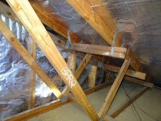 Sagging Gable Overhang Building Inspections Brisbane Qbis