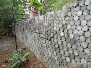 Retaining wall movement