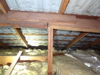 Inadequate Roof Support