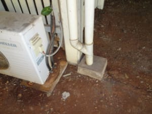 Stormwater system overloaded