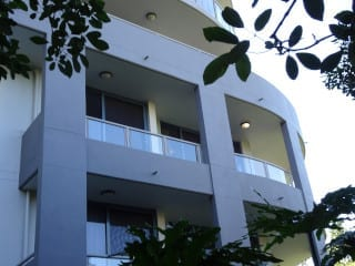 Balcony unit water entry, Toowong