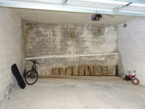 Unit garage seepage and drainage problems