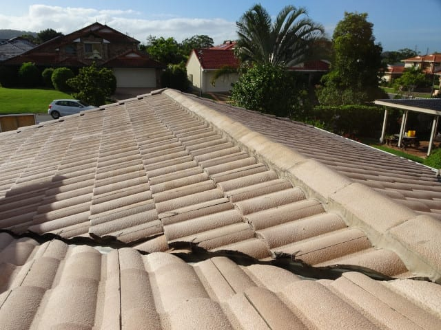 Examples of different roof leaking locations