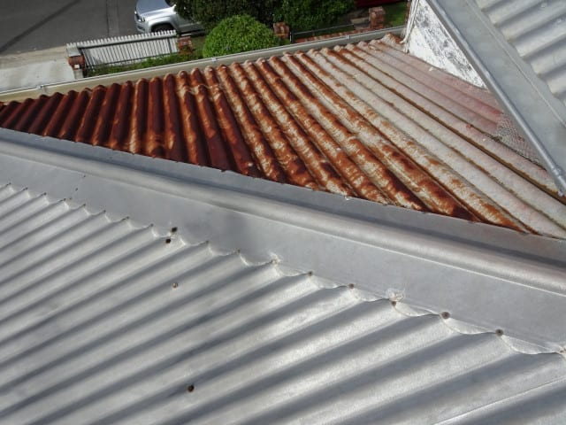 New roof problems