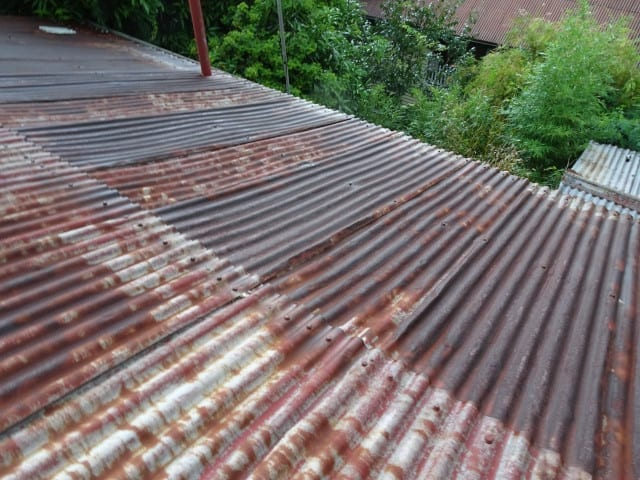 Rusted roof | Queensland Home Buyers Inspection Service | Building Inspections Brisbane