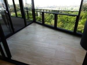 Unit-balcony drainage problem in Brisbane city