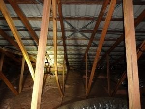 New roof trusses bowing danger