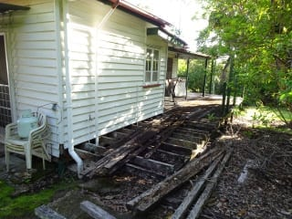 Rotting deck dangers-Brisbane