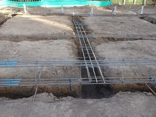 Construction & inspection stages of a new house